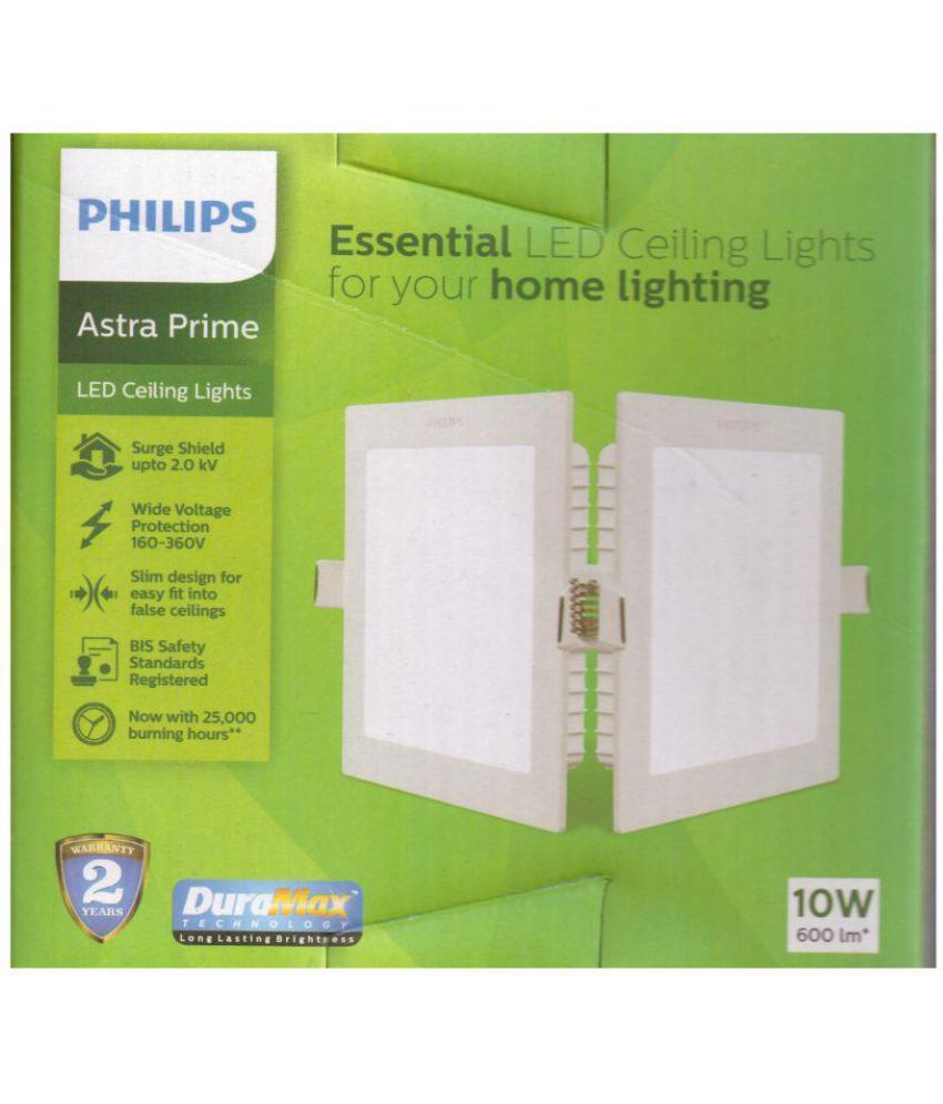 Philips 10W 5-9Inch Plastic Ceiling Light Square ...  sc 1 st  Snapdeal & Philips 10W 5-9Inch Plastic Ceiling Light Square: Buy Philips 10W 5 ...
