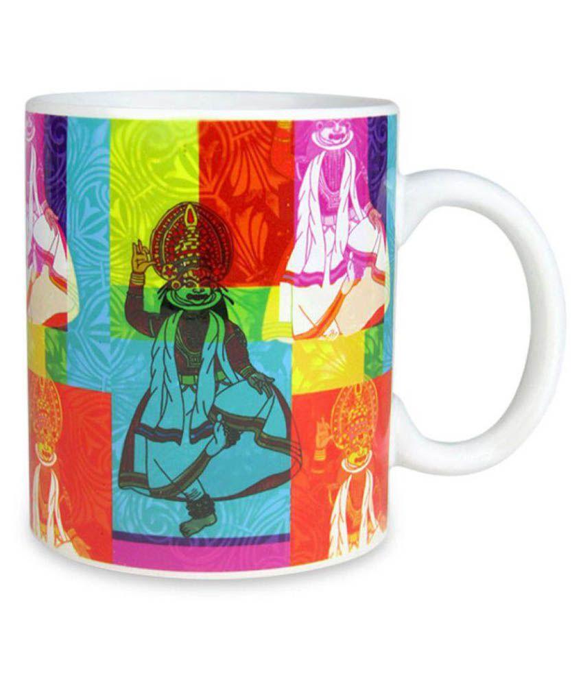 Archies Limited Ceramic Coffee Mug 1 Pcs 350 ml