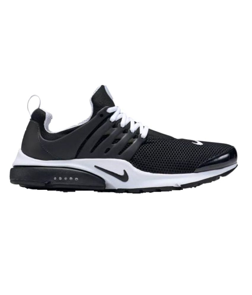 Maxx Air Black Running Shoes