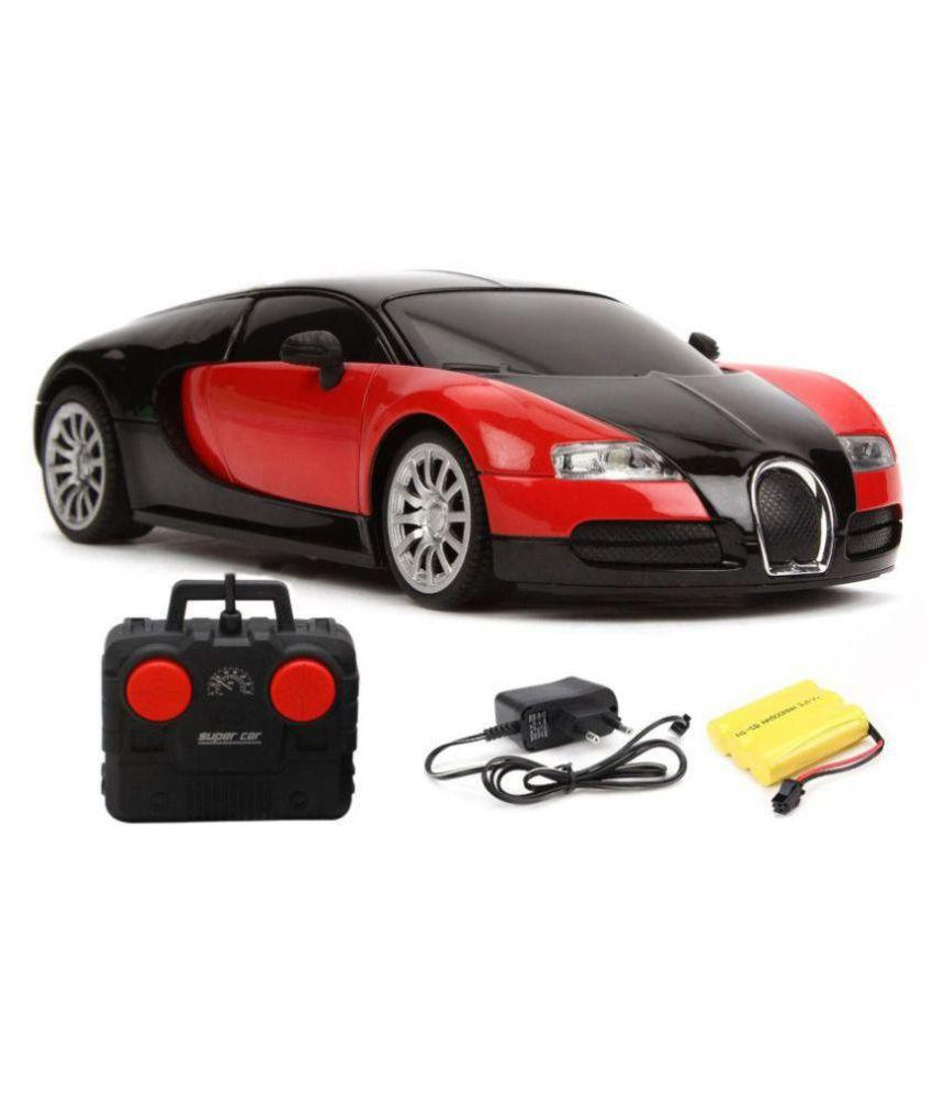 smiles creation 1:16 rechargeable bugatti remote control car - buy