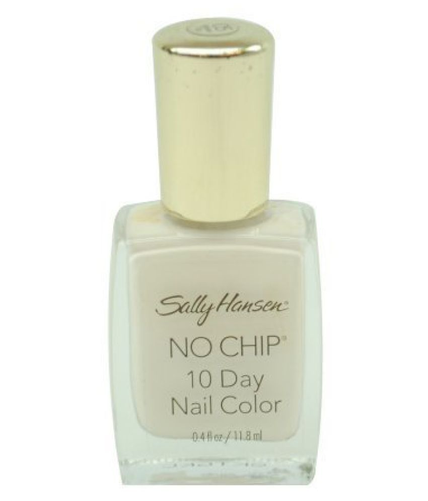 Sally Hansen No Chip 10 Day Nail Color #4840-05, White Tip 0.40 Oz