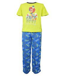 Jounior Boxer Multicolour T shirt & Pajama set