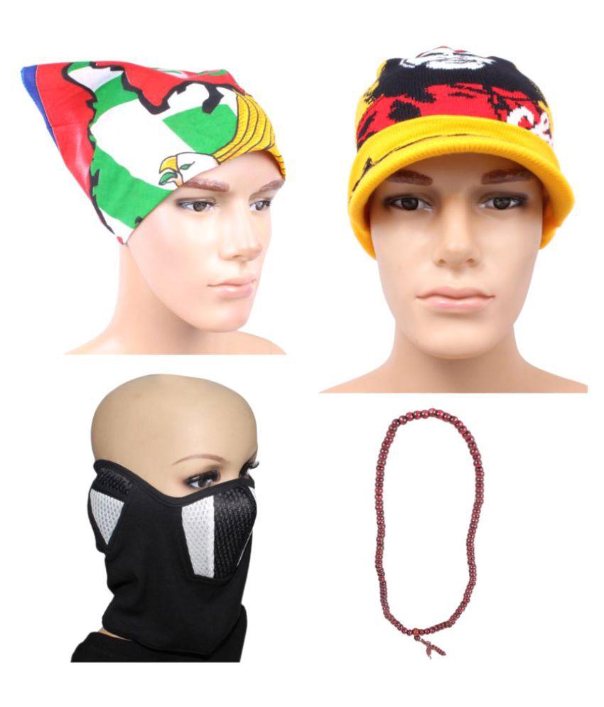 Sushito Multi Wool Caps