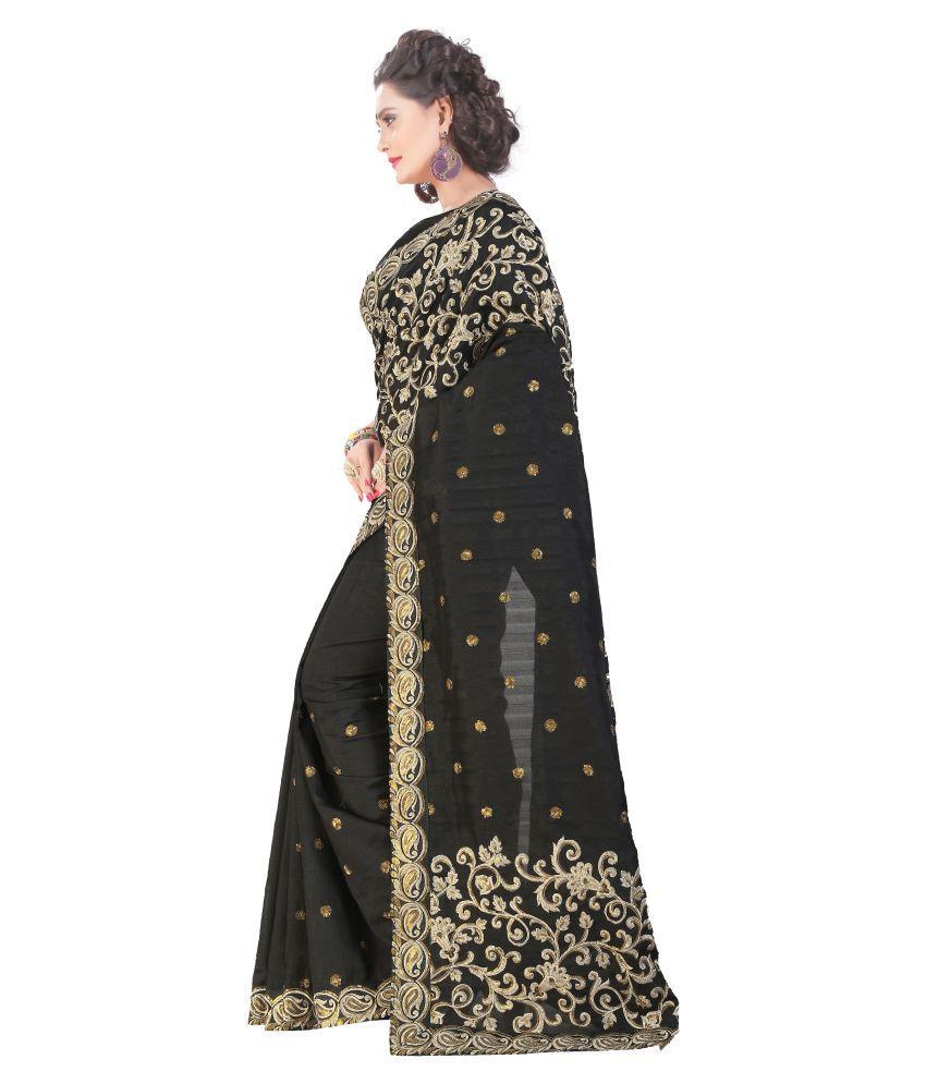 765516c8b45 Zofey Bollywood Designer Sarees Green and Grey Georgette Saree - Buy ...