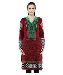 e522387741 Woolen Kurtis: Buy Woolen Kurtis Online at Best Prices in India on ...