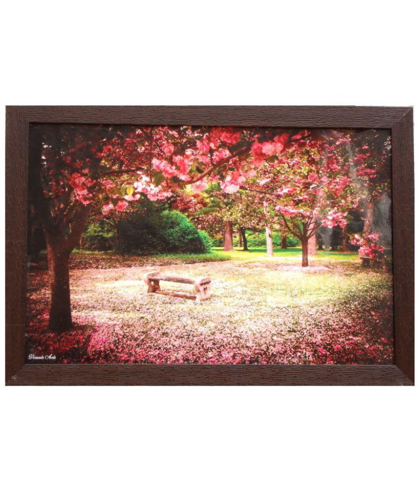 Amazing Collections Landscape Scenery Acrylic Painting With Frame Single Piece