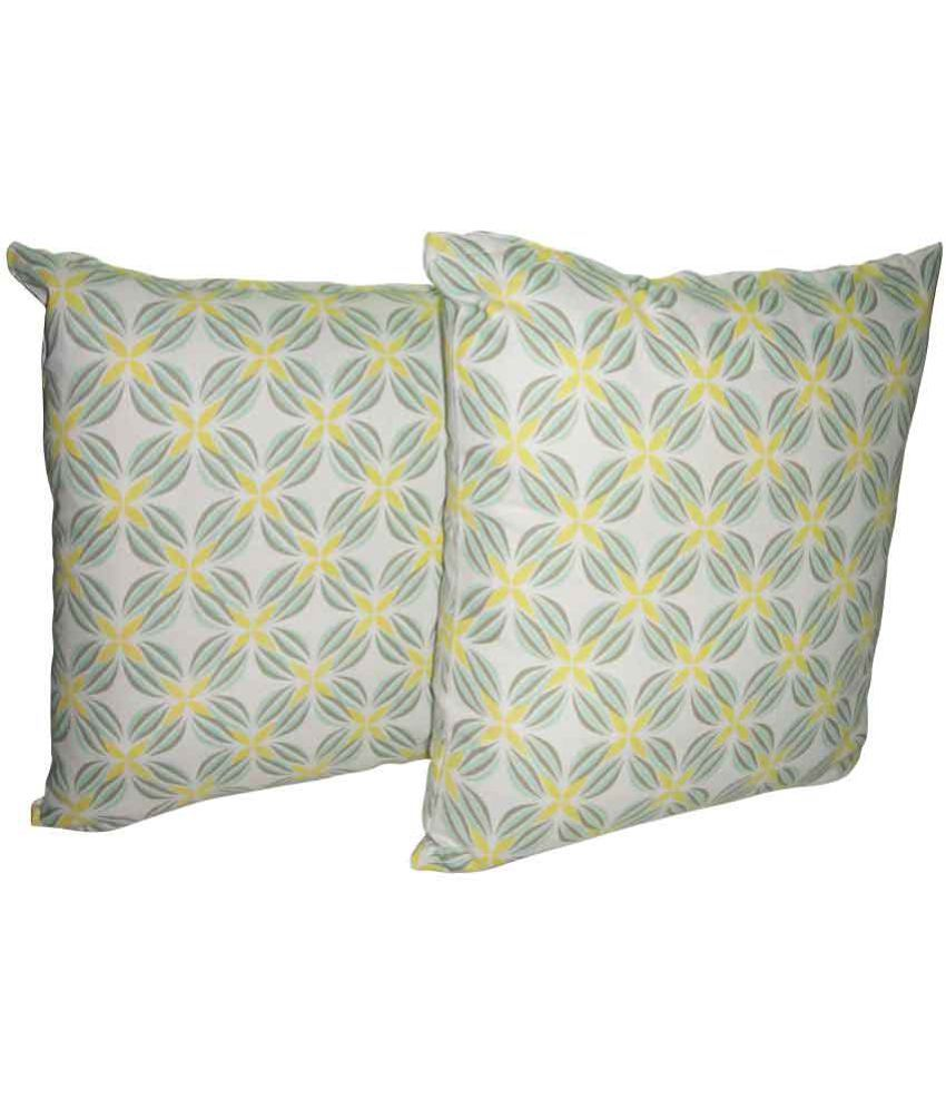 Home Colors Set of 2 Cotton Cushion Covers
