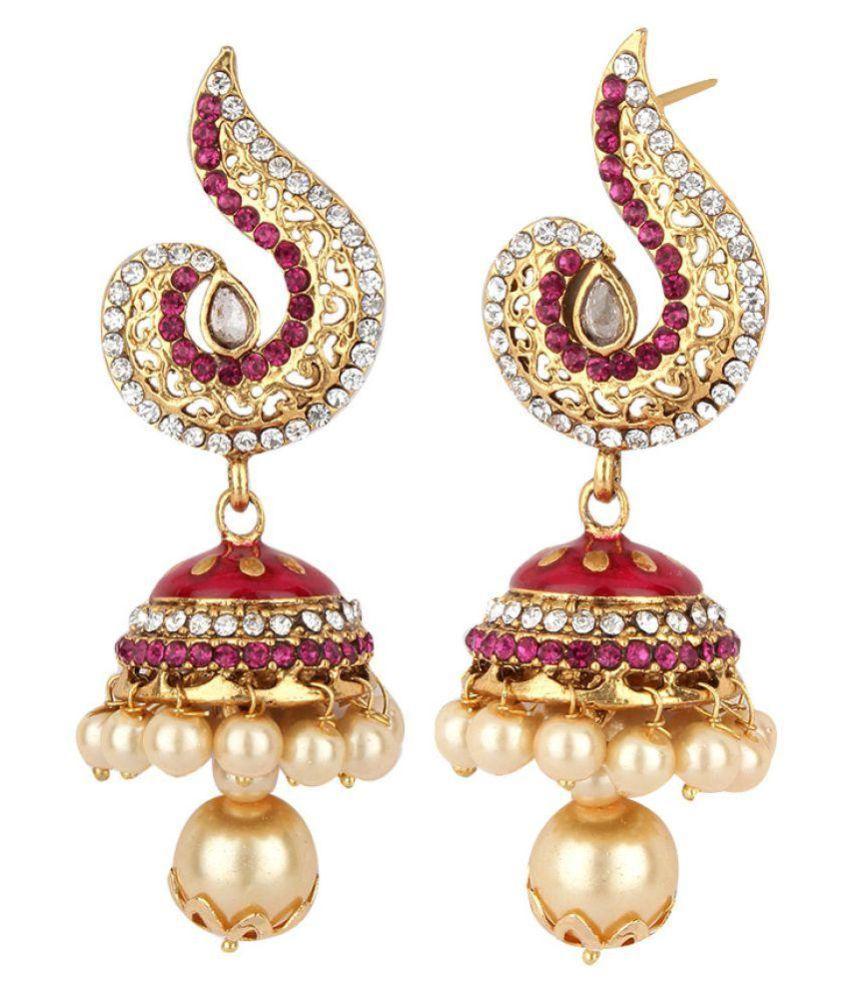 Styylo Fashion Multicolour Jhumki Earrings