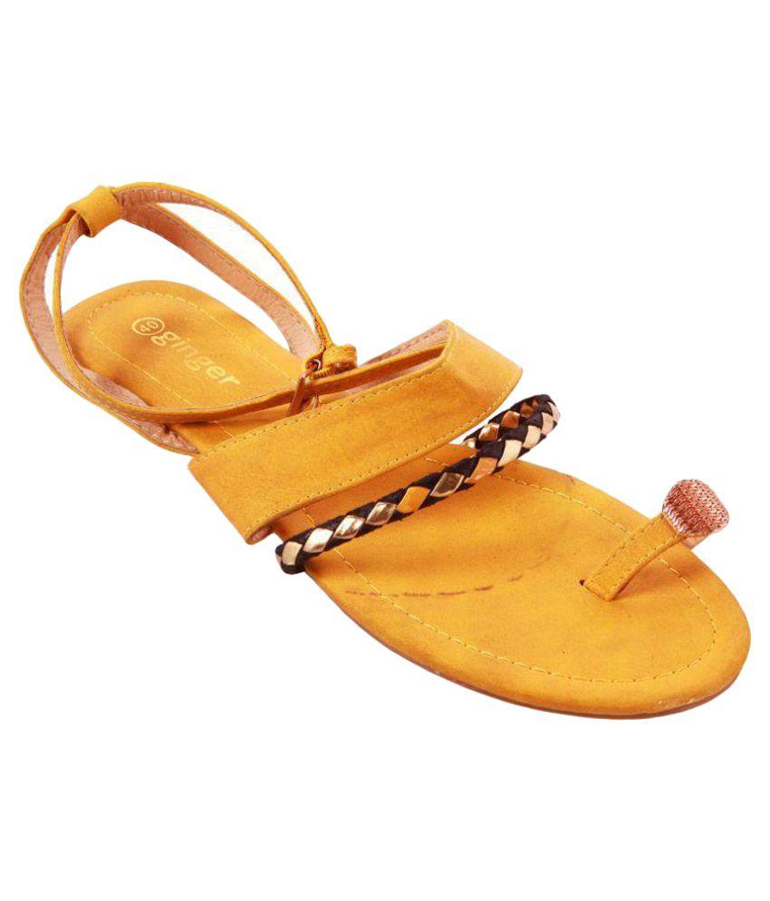 Ginger Yellow Flats