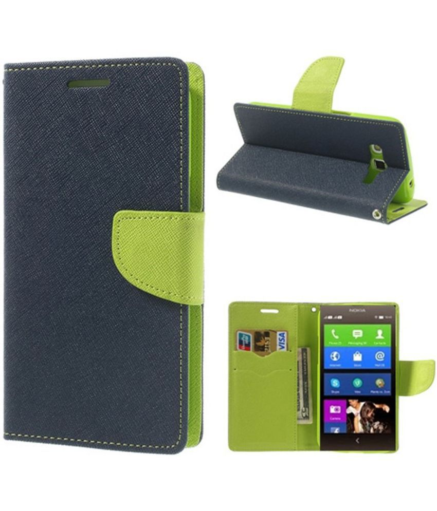 Samsung Galaxy On7 Flip Cover by G-MOS - Blue