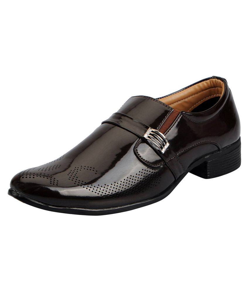 free shipping official site quality from china wholesale Fausto Black Slip On Non-Leather Formal Shoes cheap sale collections eg37vlyjl
