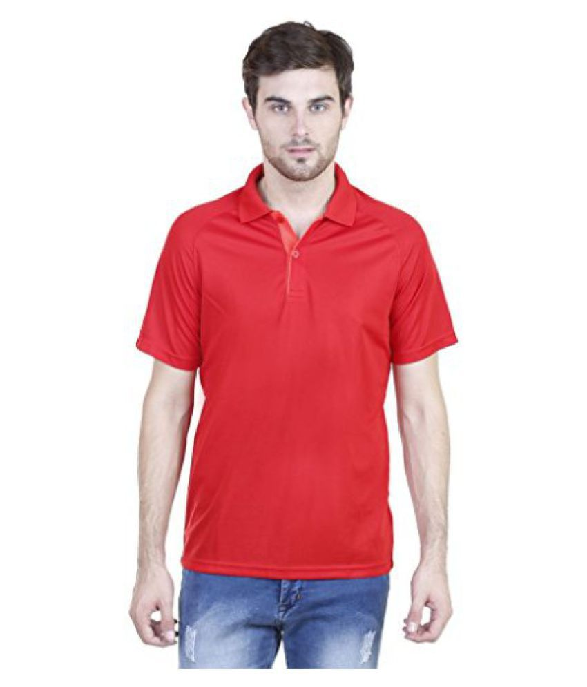 Adidas Mens Plain Polo Neck T-Shirts