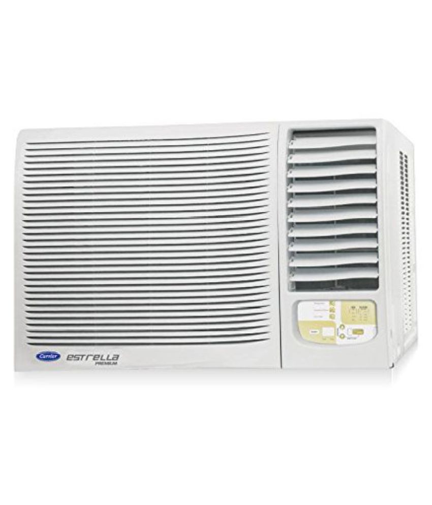 Carrier 18K Estrella Premium Window AC (1.5 Ton, 5 Star Rating, White)(2016-17 BEE Rating) Snapdeal Rs. 31990.00