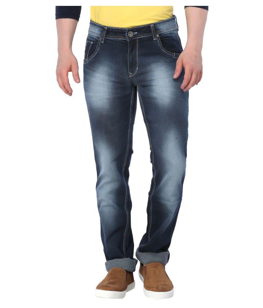 Gabon Blue Slim Jeans