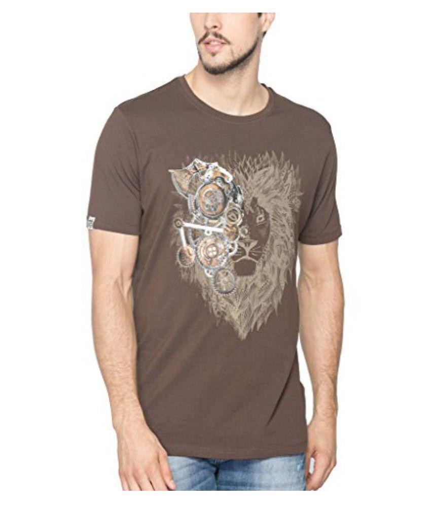 Spykar Men Cotton T-Shirt