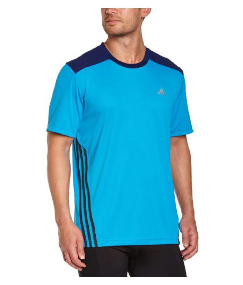 adidas Mens Round Neck T-Shirt