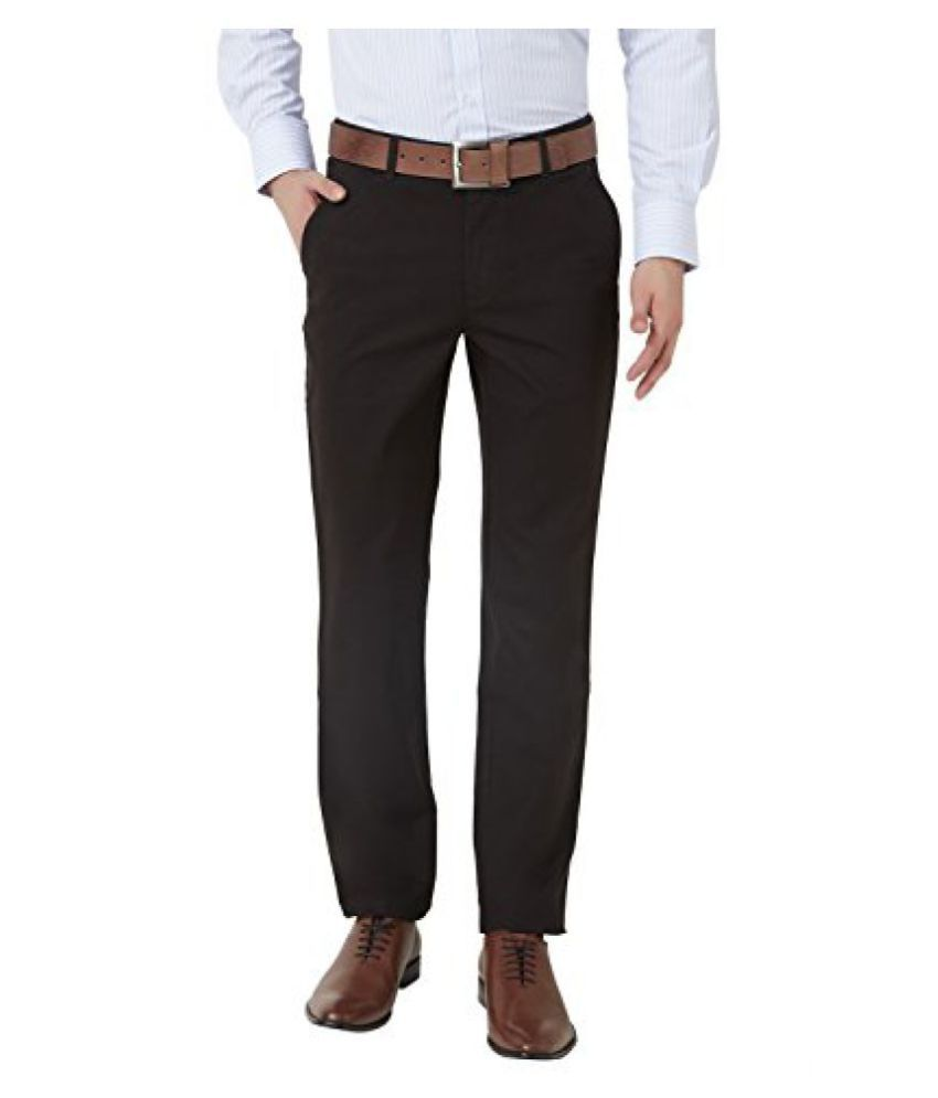 Peter England Mens Slim Fit Pants (PTF51503861 )