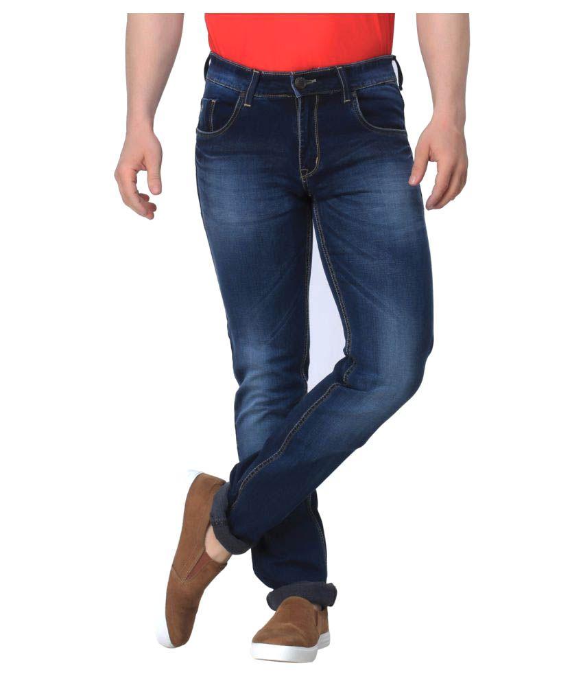 Gabon Dark Blue Slim Jeans