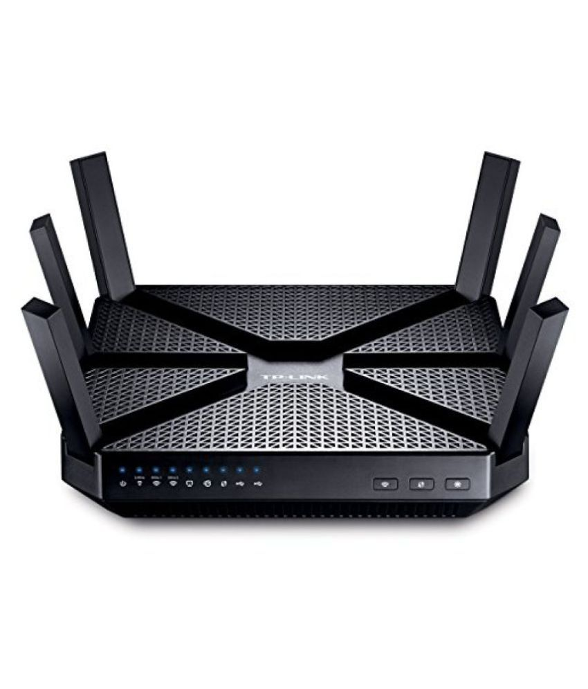 TP-Link Archer C3200 Wi-Fi Router (Black)