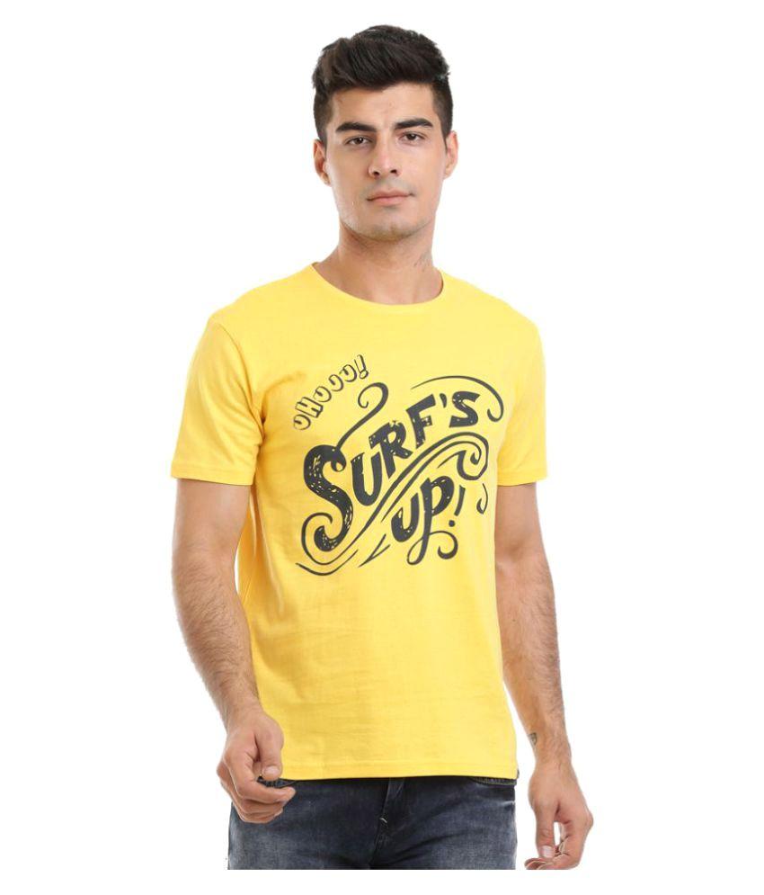 HW Yellow Round T-Shirt