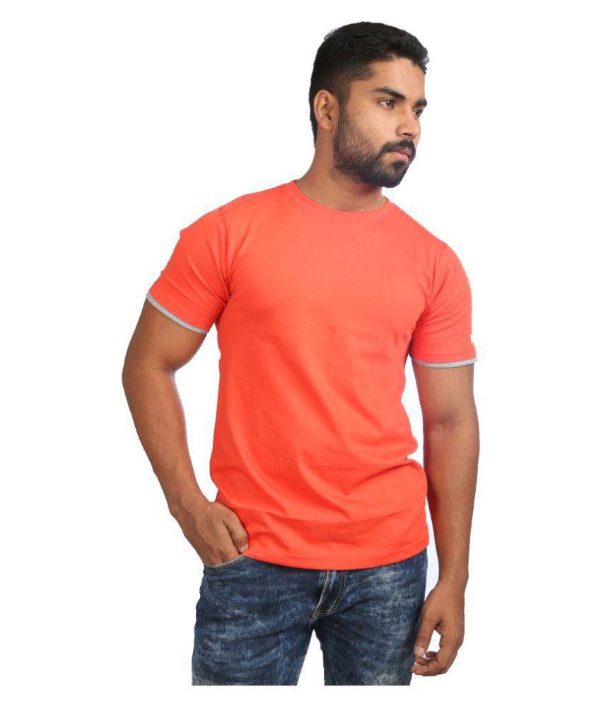 Catfish Orange Round T-Shirt