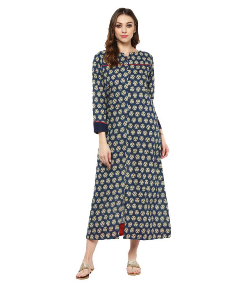 Jaipur Kurti Cotton A- line