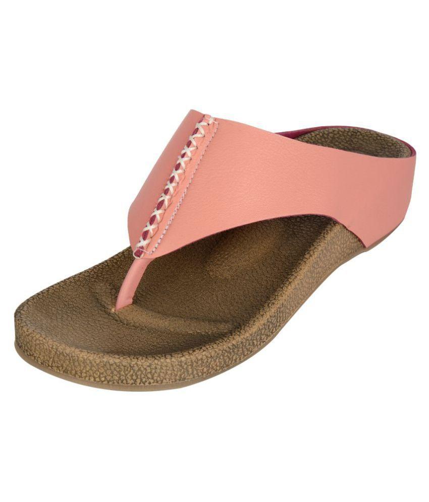 San Lee Pink Block Heels