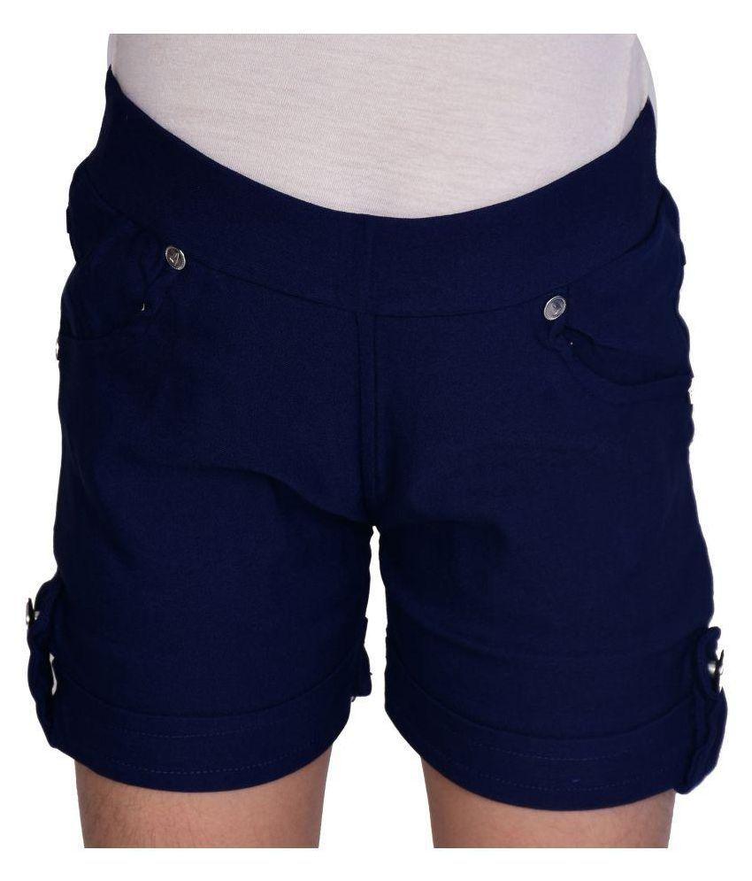 Neeya Fashions Blur Girls Shorts