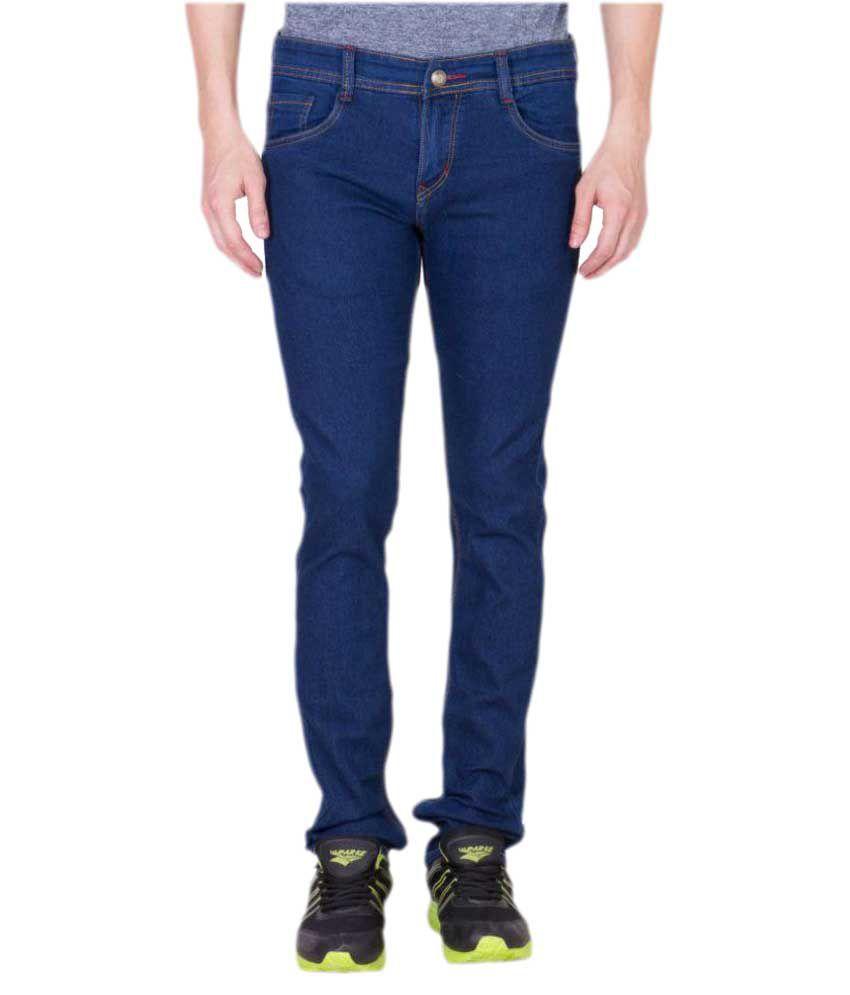 Maxxone Dark Blue Regular Fit Jeans