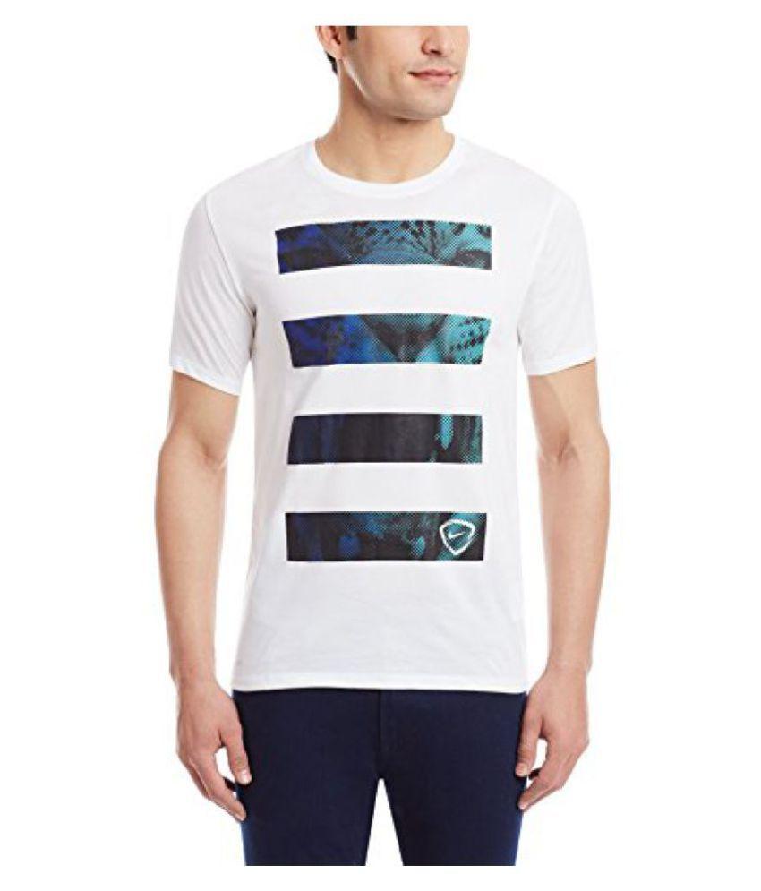 Nike Mens Round Neck Cotton T-Shirt