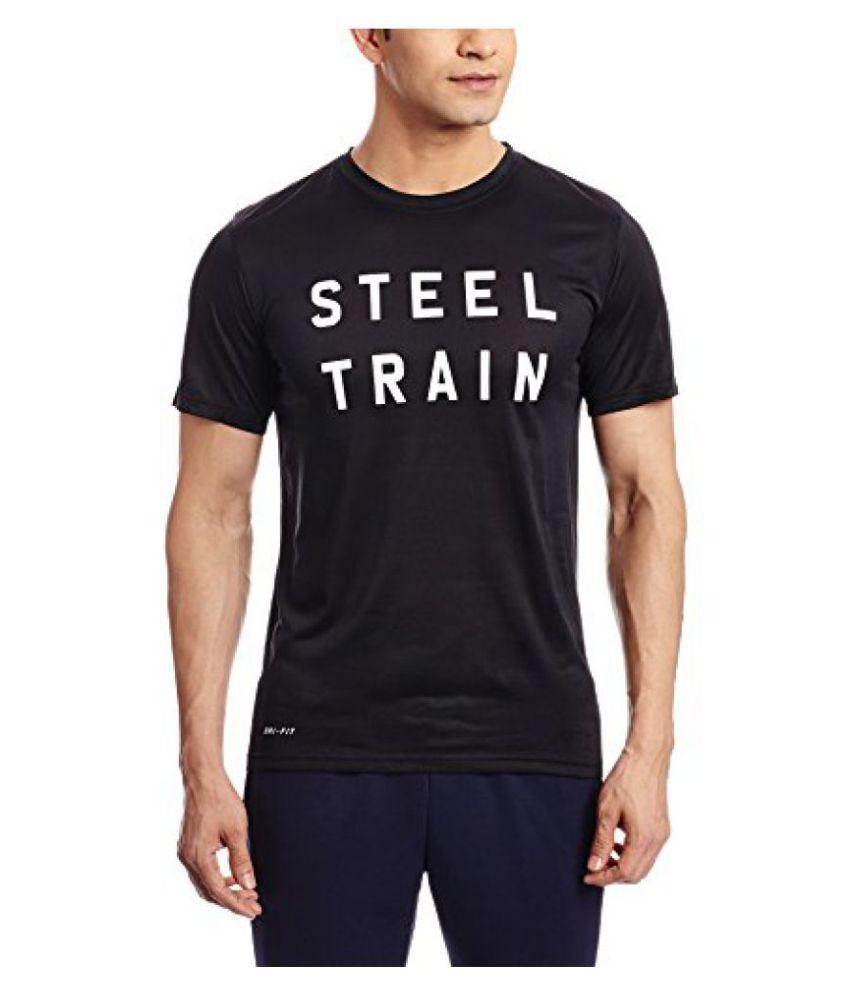 Nike Mens Round Neck Polyester T-Shirt