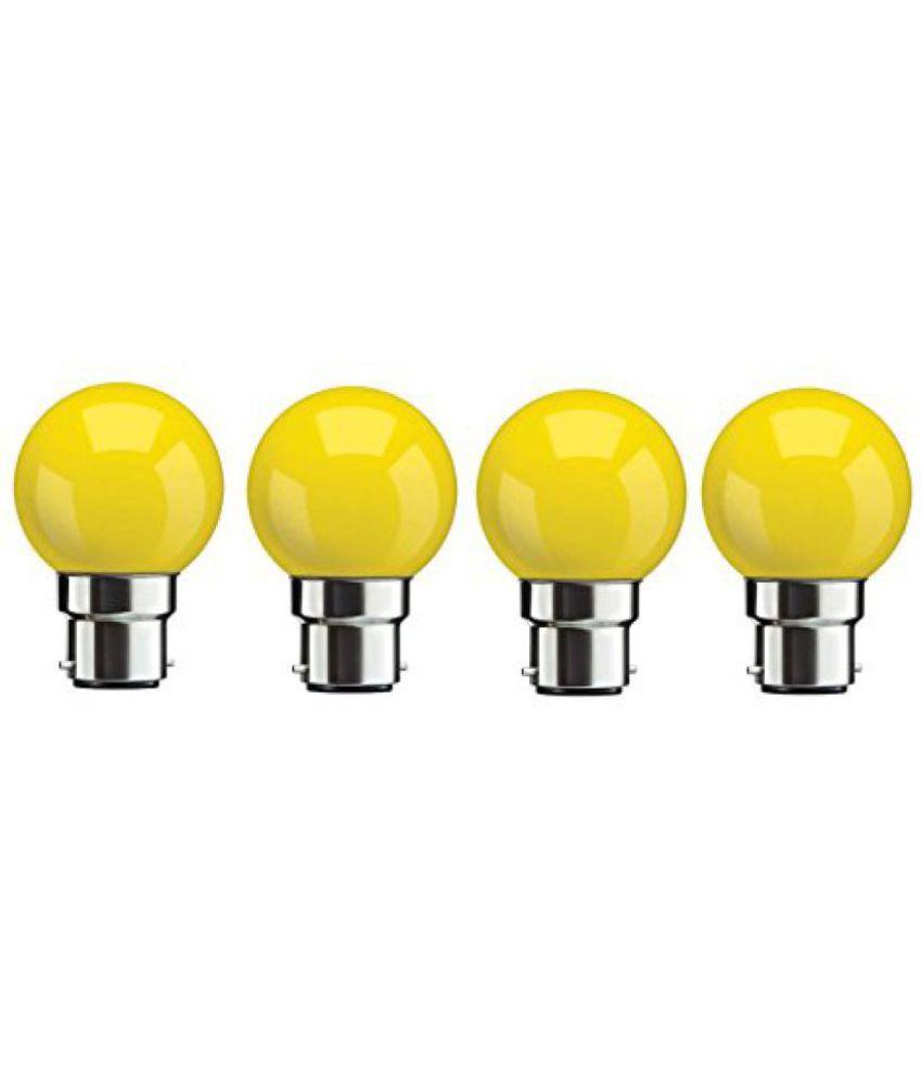Syska 0.5W LED Bulbs   Pack of 4