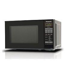Panasonic NN-ST266BFDG 20-Litre Solo Microwave (Black)