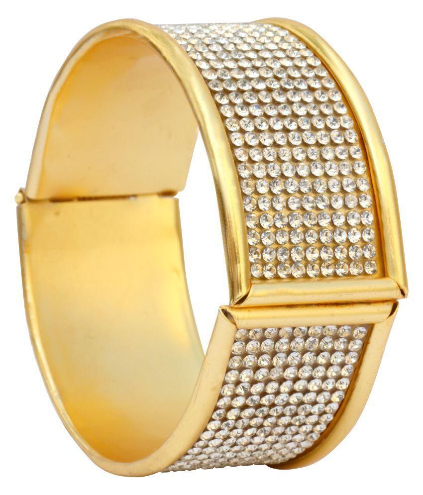 Butter Fly Golden Alloy Bracelet