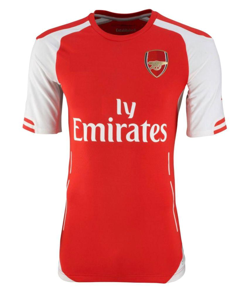 newest 1a2f7 ffcaa Marex Red Arsenal Home Football Jersey (Football Kit)