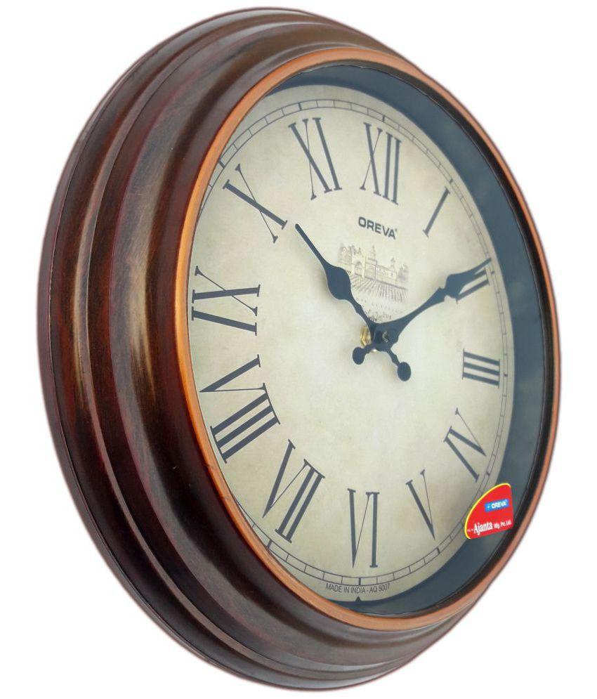 Ajanta Circular Analog Wall Clock Sach Retails 137 0