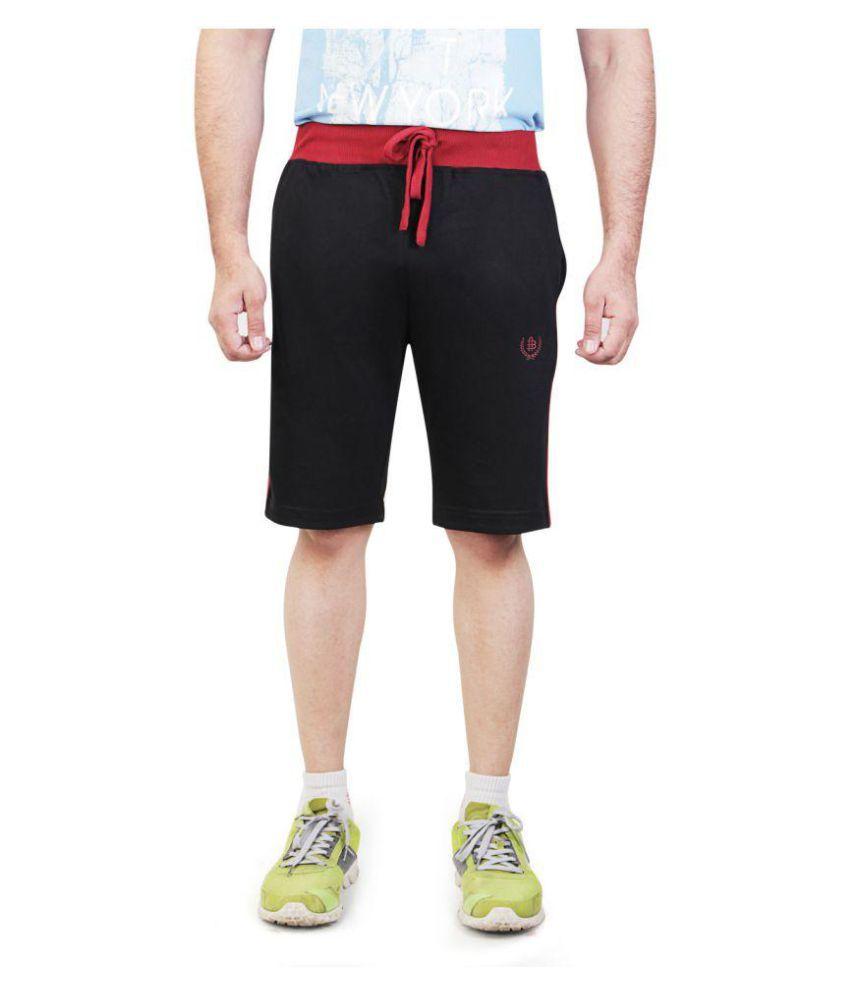 Bongio Black Shorts
