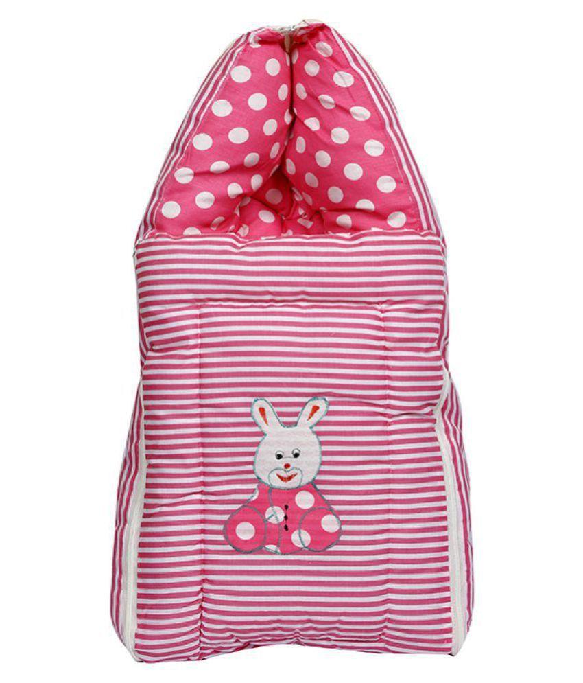 Shishu.online Multi-Colour Cotton Baby Wrap cum blanket ( 50 cm × 8 cm - 1 pcs)