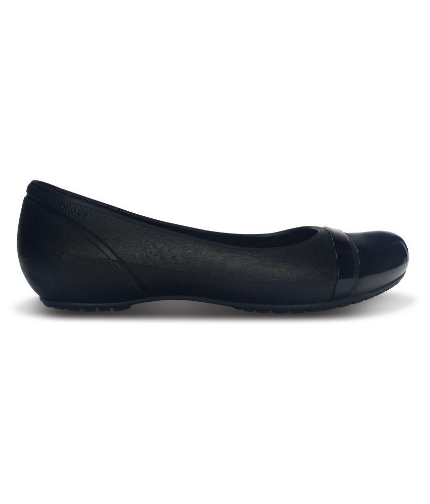 58709f73d0f6 Crocs Black Ballerinas Standard Fit Crocs Black Ballerinas Standard Fit ...