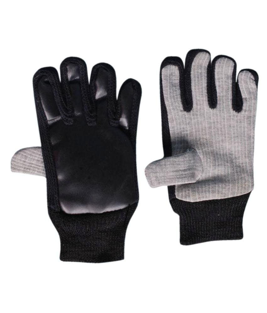 Black riding gloves - H Store Black Riding Gloves For Bike Riders