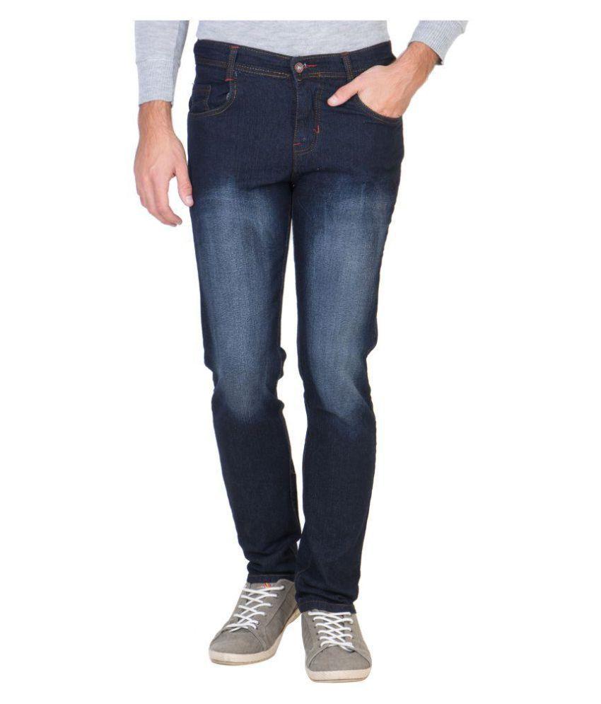 Maxxone Navy Blue Slim Jeans
