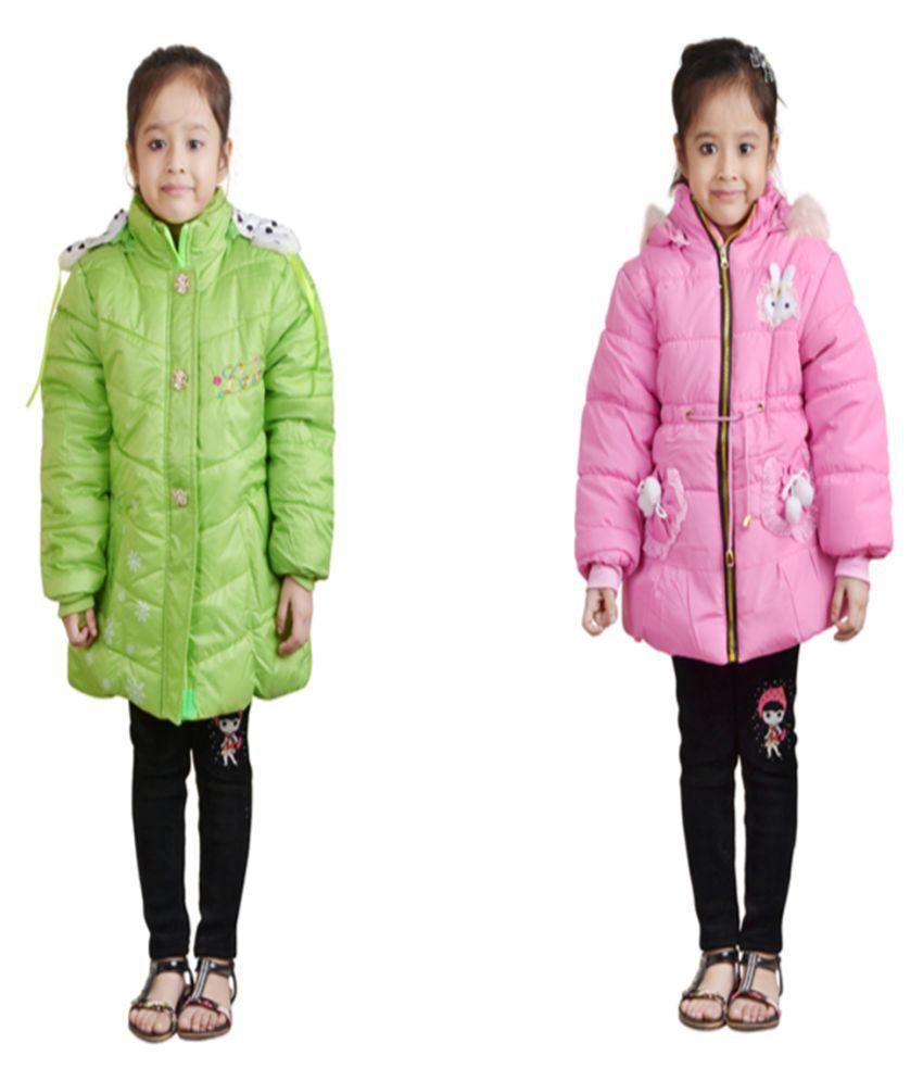 Crazeis Multicolour Jacket - Set of 2