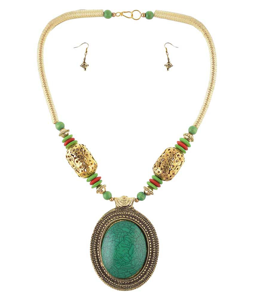 Zephyrr Multicolor Necklace Set