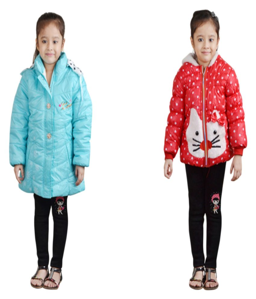 Crazeis Multicolour Nylon Jackets - Combo of 2