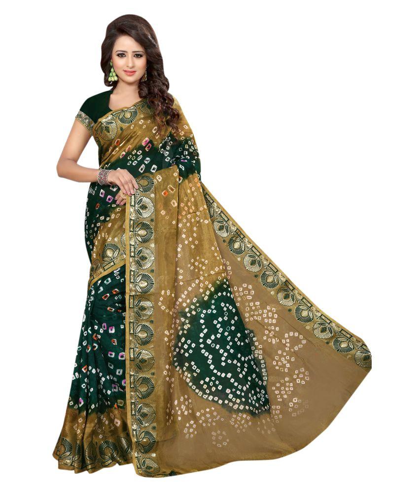 Maroosh Multicoloured Cotton Blend Saree