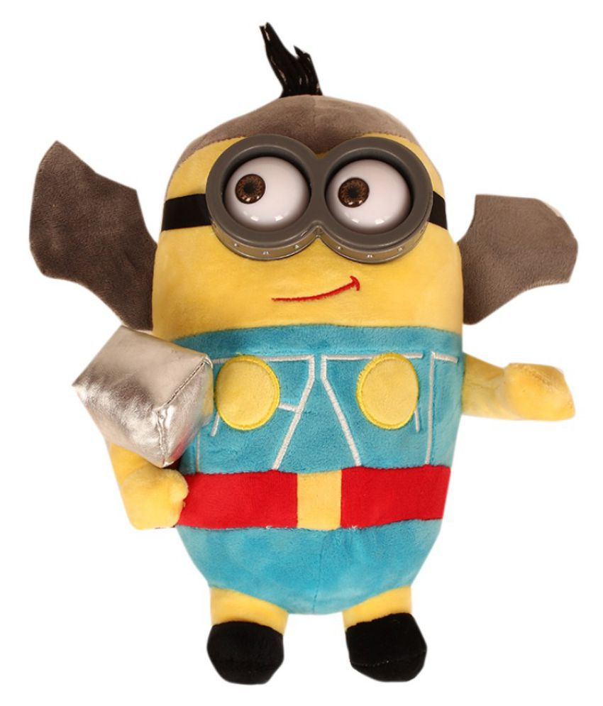 TLF Despicable Me Minions Plush Doll In Super Heroes Suit THOR