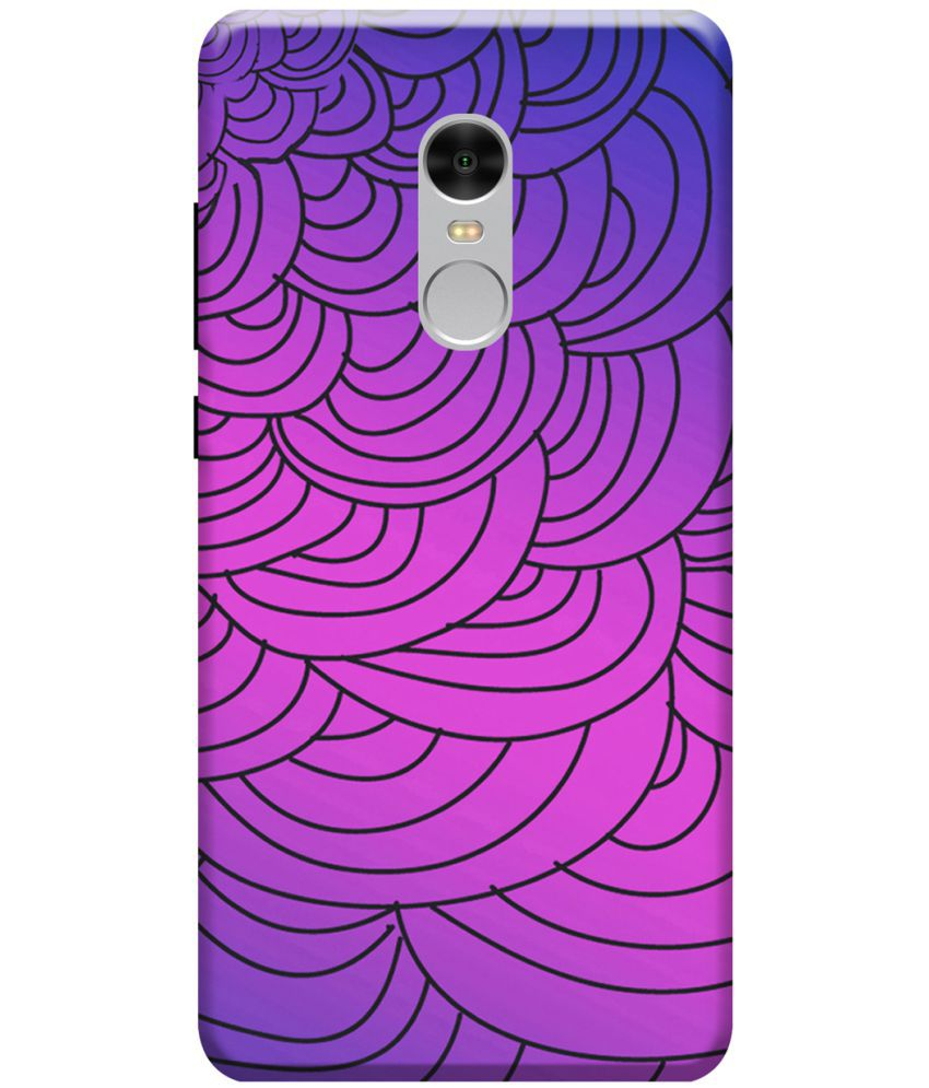 Xiaomi Redmi Note 4 Printed Cover By KanvasCases