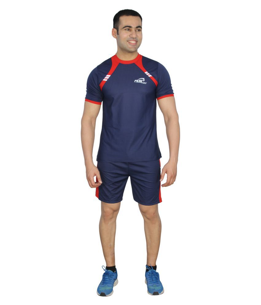 RS Sports Navy Active Wear