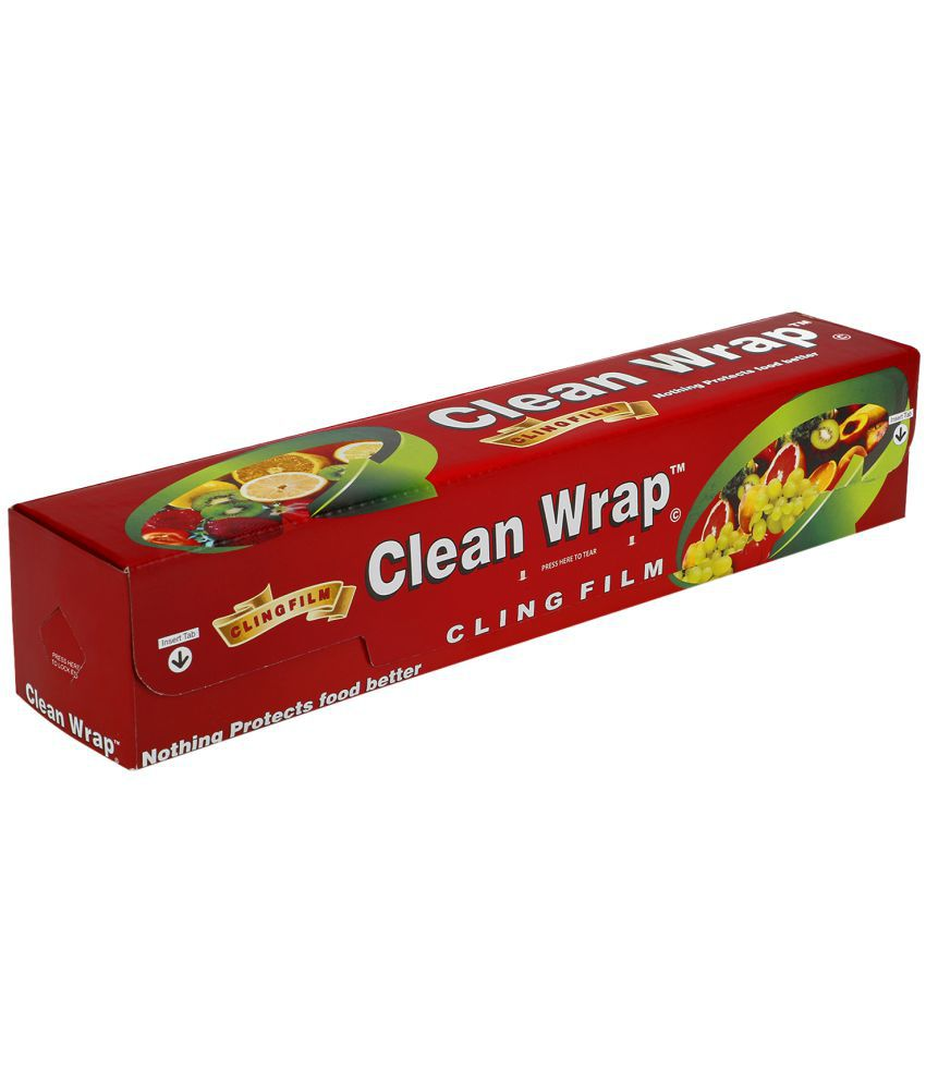 Clean Wrap Cling Film Plastic Wrap (100 MTR)