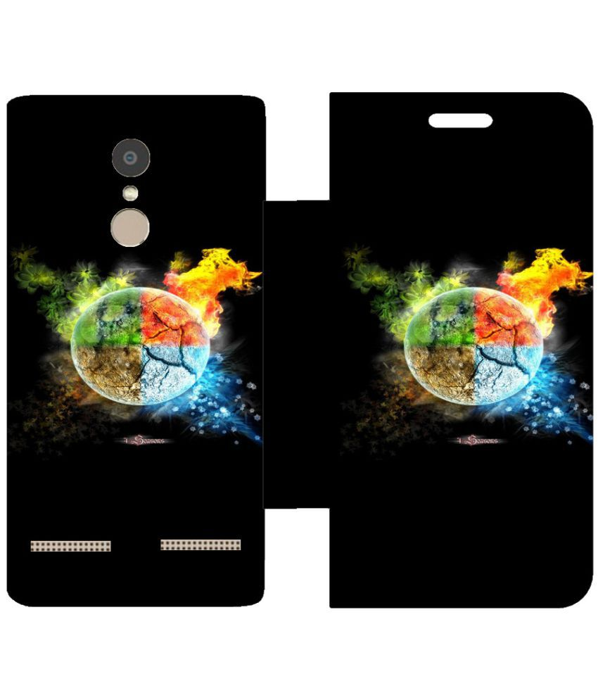 Lenovo K6 Power Flip Cover by Skintice - Multi